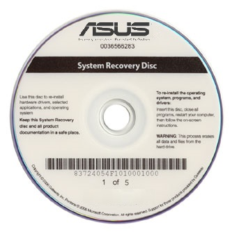Asus Recovery Disk Guide for Windows XP Vista 7 8