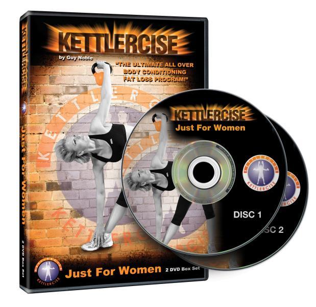 Kettlebell Workout Dvds Kettlebell Fitness Training Dvd: Kettlercise 'Just For Women' Kettlebell Work Out DVD