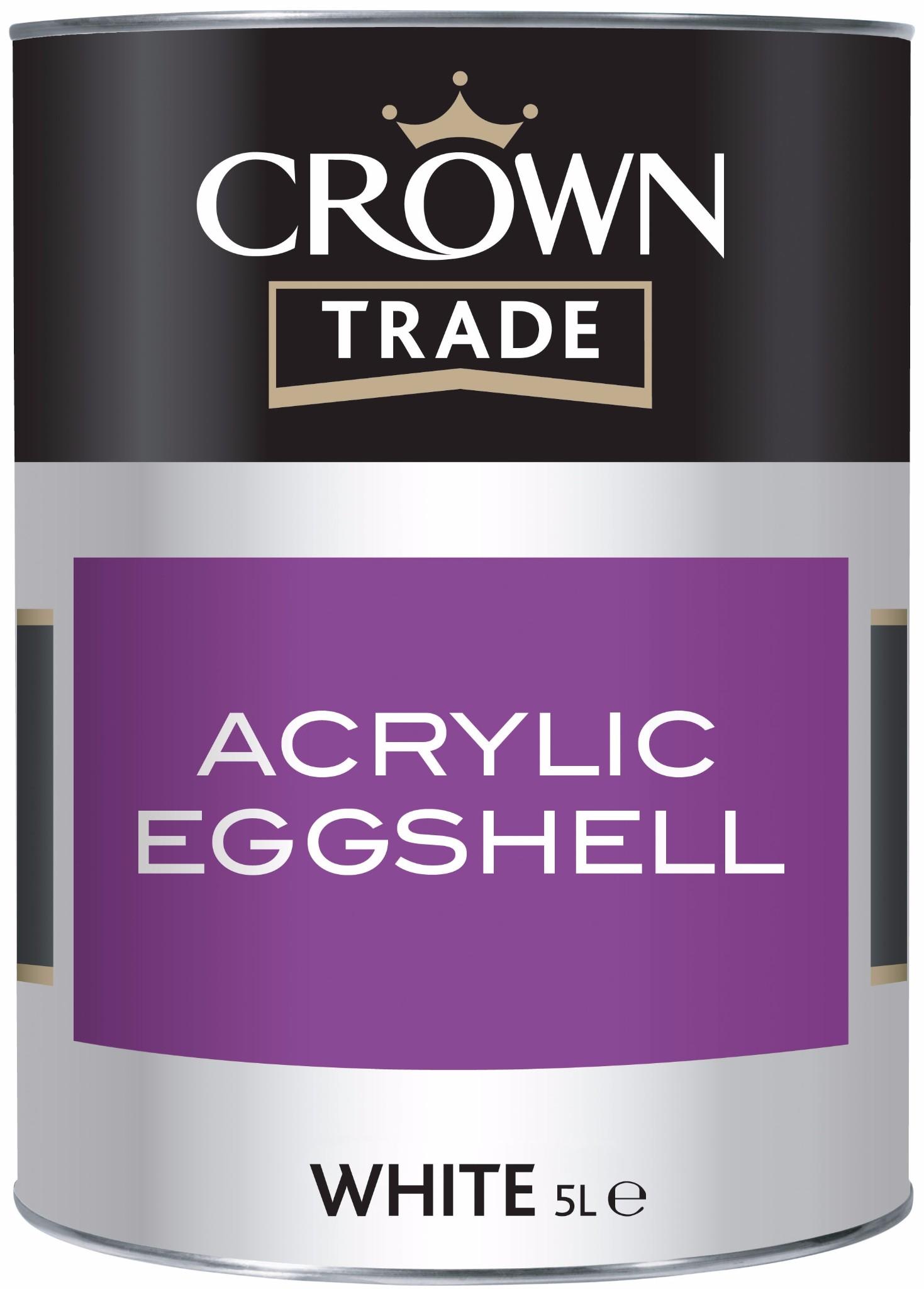 Crown Acrylic Eggshell