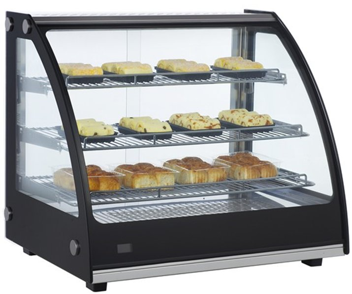 Dry Bakery Display Cases Non Refrigerated Food Display