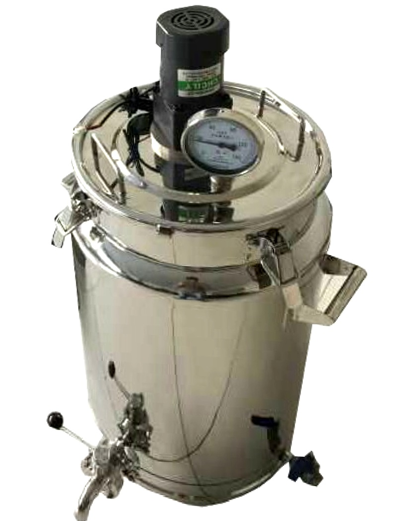 Small Capacity Pasteurizing Machine Milk Pasteurizer Tank