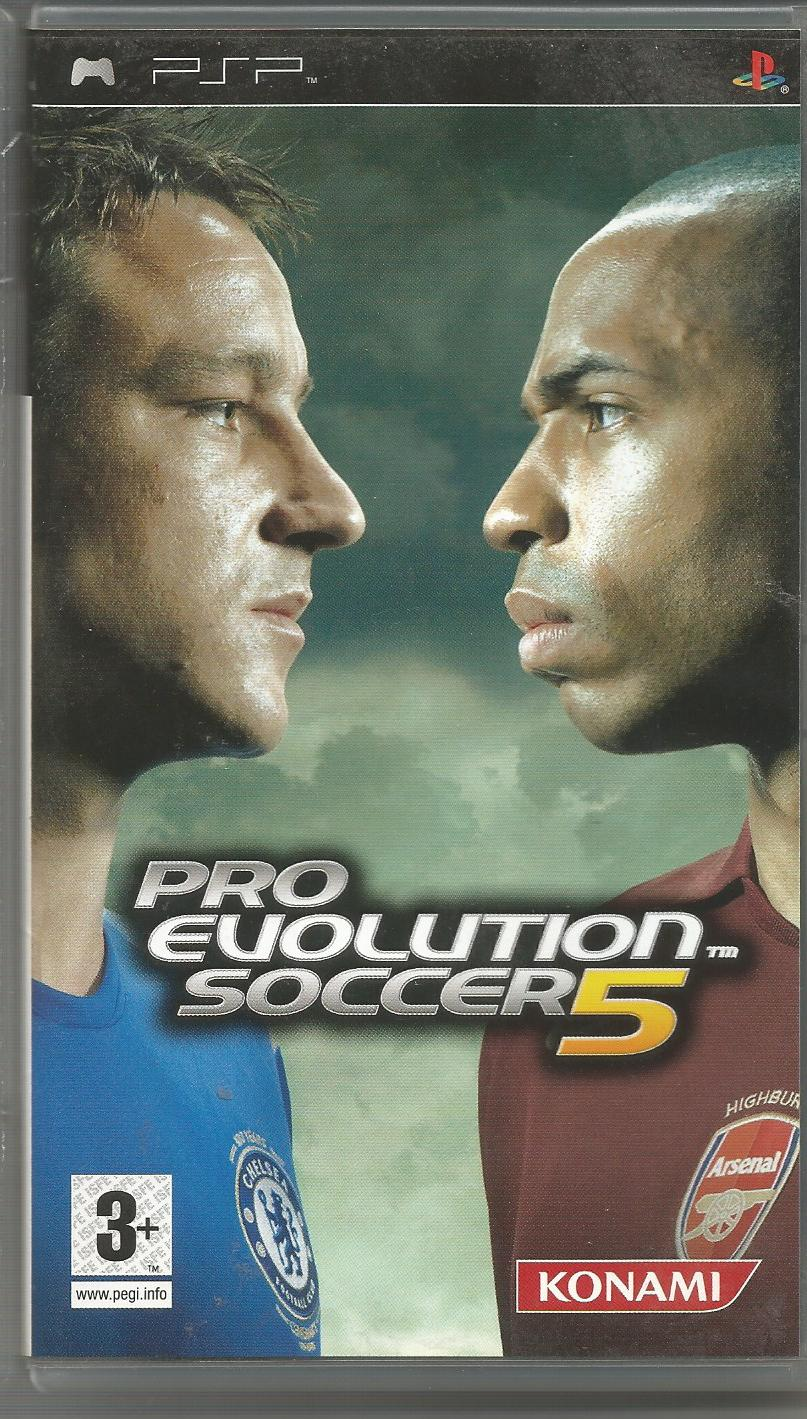 Pro Evolution Soccer 5 - Used - PSP