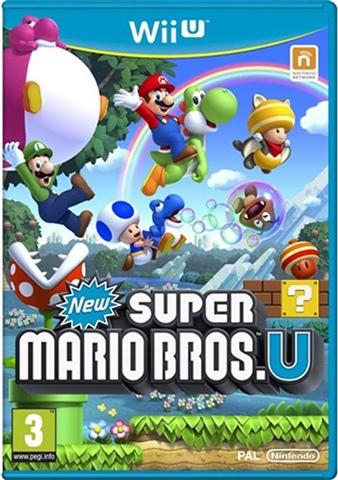 New Super Mario Bros  U - Used - Nintendo Wii U