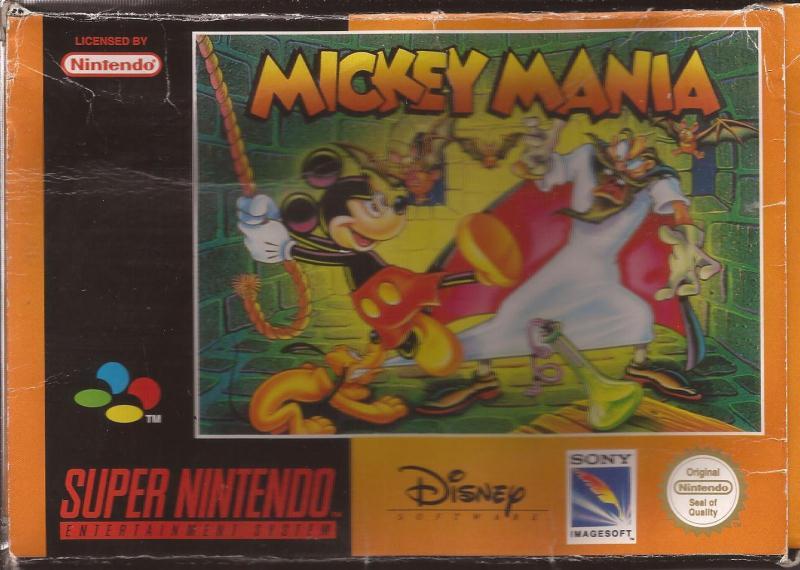 Mickey Mania - Used - SNES