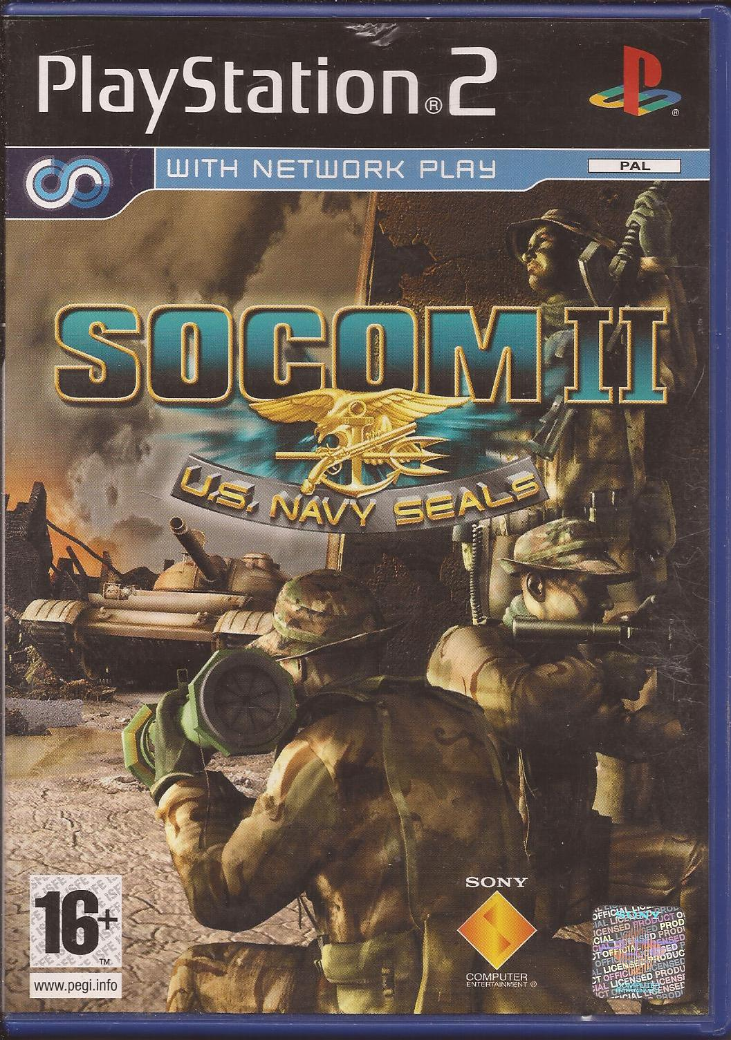 SOCOM II U S  Navy Seals - Used - Playstation 2