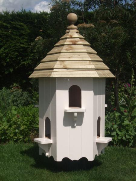 Hexagonal Dovecote For Post Mounting