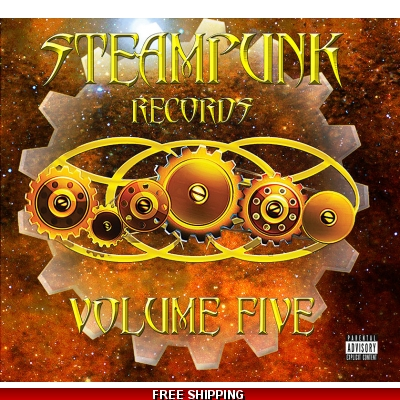 Steampunk Records Volume Five