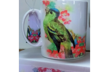 Greenfinch Mug