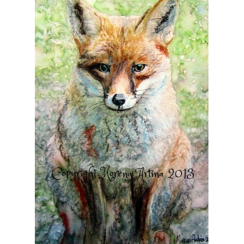 Mr Fox Giclee Print