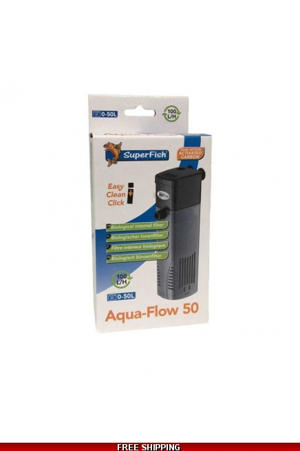 SuperFish Aqua Flow 50-100-200 Fish Tank Filter