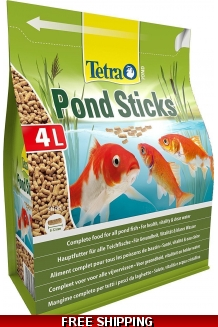 Tetra Pond Sticks ..