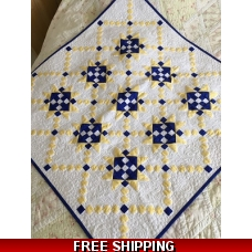 STAR-CROSSED CHAINS 'MYSTERY' QUILT and pattern