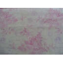 Sausalito Cottage Pink Toile- 100% cotton quilting fabric by Lakehouse Fabrics