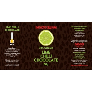 Lime Chilli Chocolate