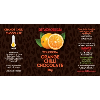 Orange Chilli Chocolate
