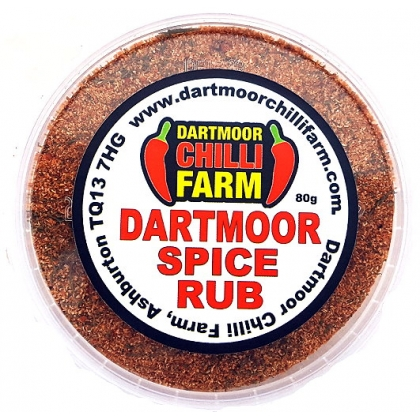 Dartmoor Spice Rub