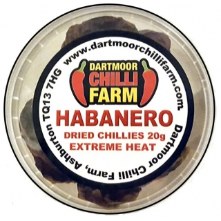 Dried Habanero Red