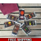 Chilli Chocolate 7 bar Gift Pack
