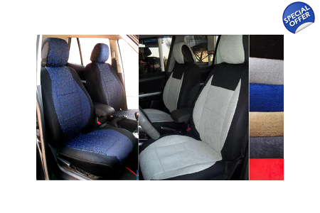 Fits Jeep Grand Cherokee Cotton Two Front Custom Fit Car Seat Covers