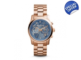 Michael Kors MK5972 hunger Stop 100 Rose Gold Wa..