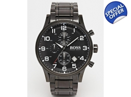 Hugo Boss Black 1513180 Mens Steel Watch