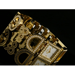 D&G 3729250329 - NIGHT & DAY Gold Watch