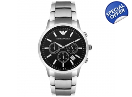Emporio Armani AR2434 Classic Chrono Black Watch