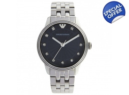 Emporio Armani Ar1653 Dino ladies watch silver s..