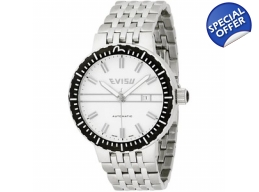 Evisu EV-7011-22 Suzuka White Mens Designer Watch