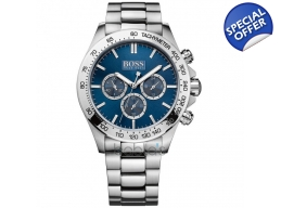 Hugo Boss 1512963 Gents Bracelet Blue Face Watch