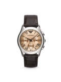 Emporio Armani AR1790 Classic Chronograph Leather Women's Watch