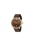 Emporio Armani AR1793 Classic Men's Brown Leather Chronograph Watch