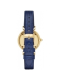 Emporio Armani AR1875 Women's Retro Blue Leather Watch