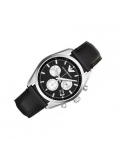Armani AR6009 Sportivo Black Leather Men's Watch