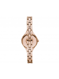 Emporio Armani AR7354 Ladies Cream and Brown Chiara Watch