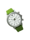 Emporio Armani AR11022 Chronograph White Dial Men's Watch