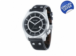 Evisu EV-7005-01 Shiro Black Unisex Designer Watch