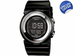 Casio Baby-G Ladies Black Digital Display Watch ..