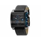 Diesel DZ4157 Mens Black Leather Strap..