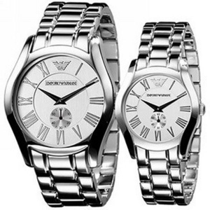 Emporio Armani His and Hers Classic Watches - AR0647 & AR0648