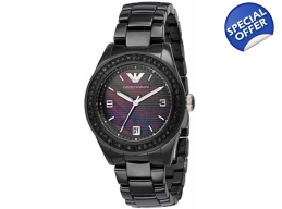 Emporio Armani Watches AR1423 Ladies Ceramica Al..