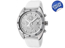 Emporio Armani AR5929 Mens White Sports Chrono W..