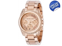 Michael Kors MK5263 Women's  Rose Gold Bracelet ..