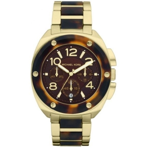 Michael Kors Watches MK5593 Ladies Two Tone Chronograph Watch