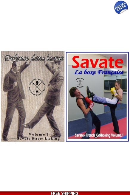 Defense dans la Rue Vol.1 & Savate Kickboxing