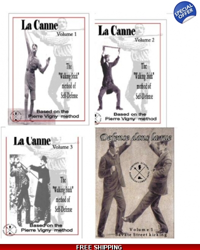 La canne & Defense dans la Rue Vol.1  Set