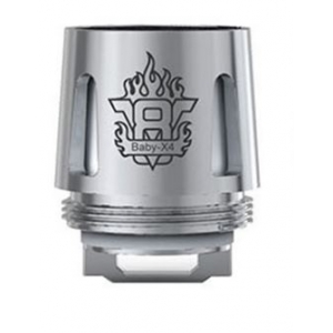 Smok TFV8 Baby x4 quadruple core coil 0.15 oHm 30-70Watts