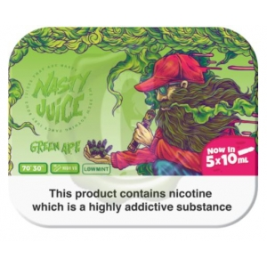 Nasty Juice Green Ape 5x 10ml Multipack 3mg