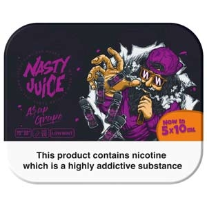 Nasty Juice A$AP Grape 5x 10ml Multipack