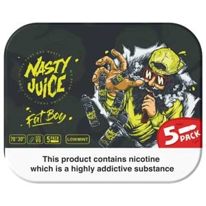 Nasty Juice Fat Boy 5x 10ml Multipack